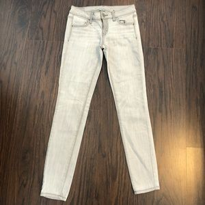 American Eagle jeans super stretch jegging size 4